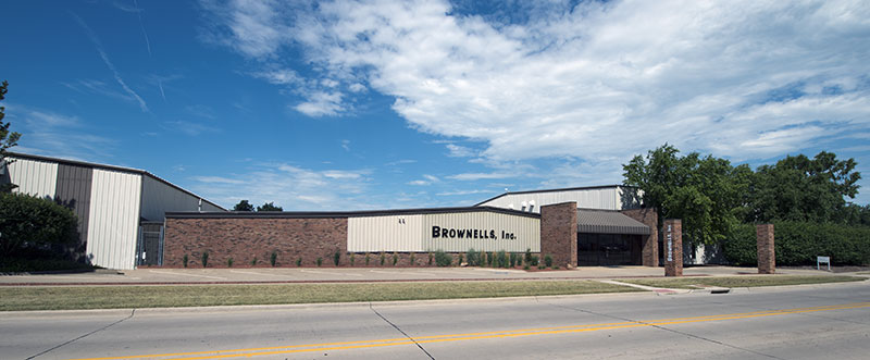 The Brownell building in Montezuma, IA. Now home to Crow Shooting Supply.